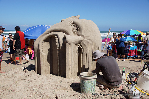 Annual Galveston Sandcastle Competition