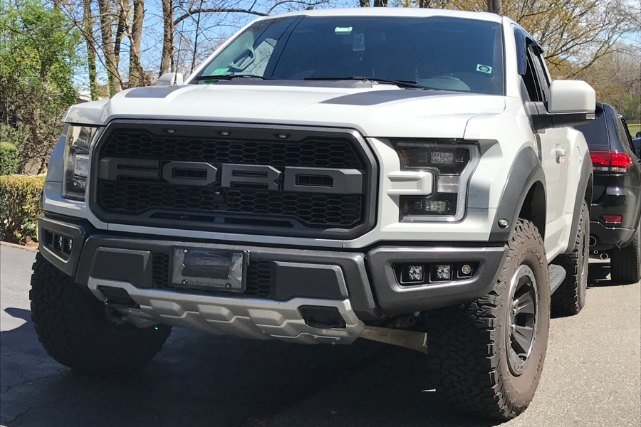 pre order fog light bezel  mounting kits    raptor ford raptor
