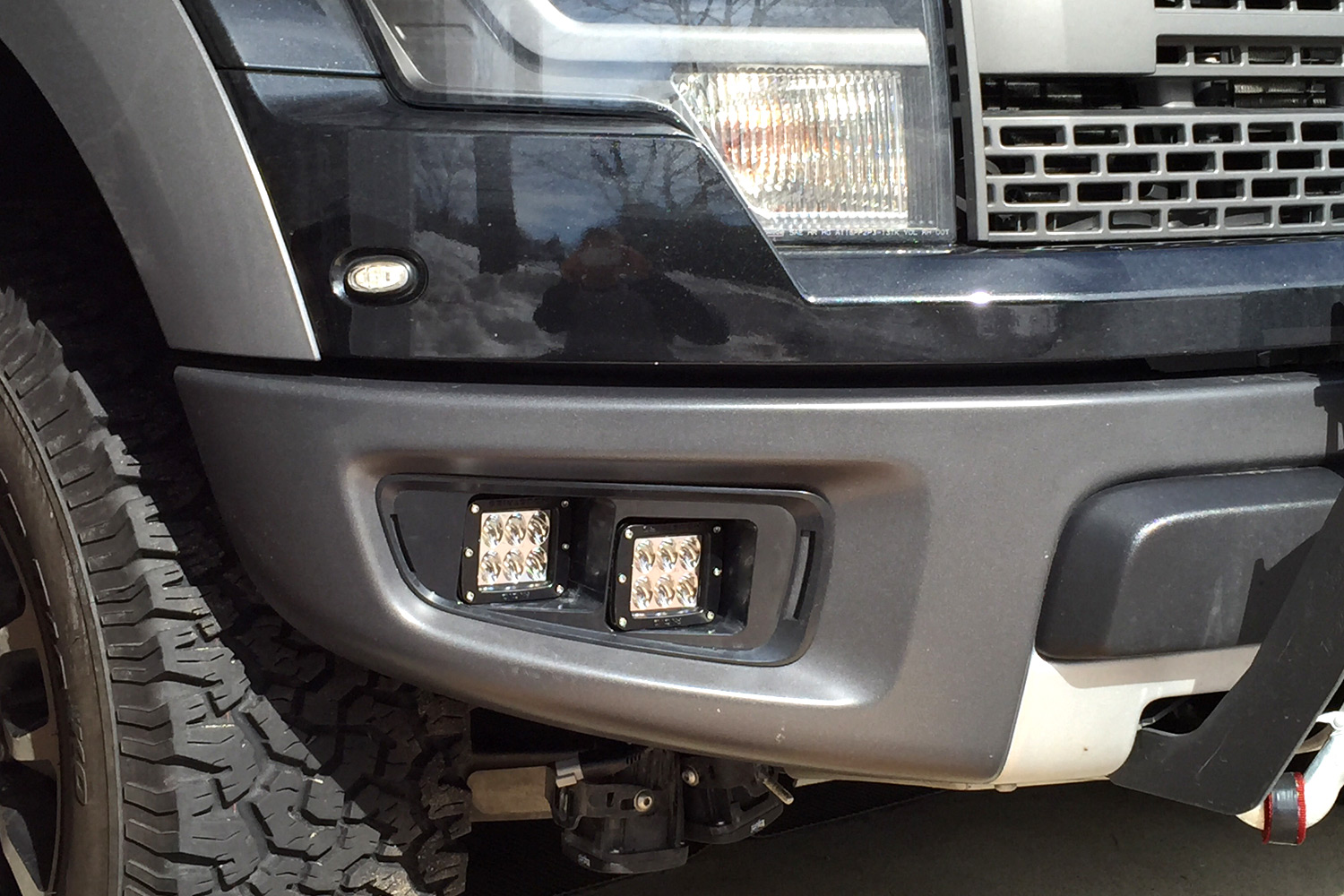 wiring fog lights on ford raptor