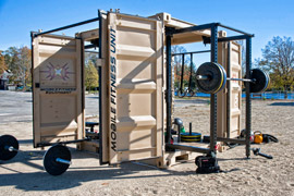 outdoor mobile fitness