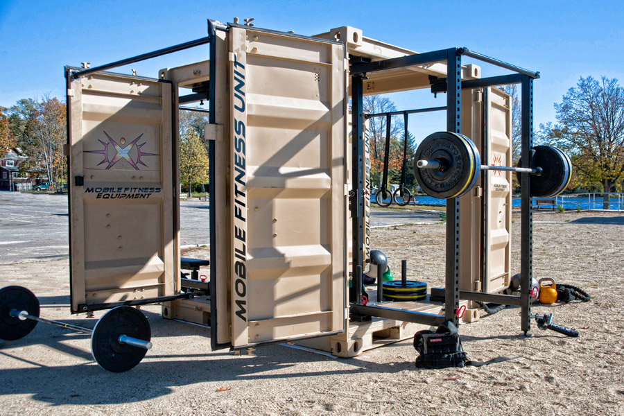Outdoor Fitness Equipment : Mobile outdoor fitness equipment pictures