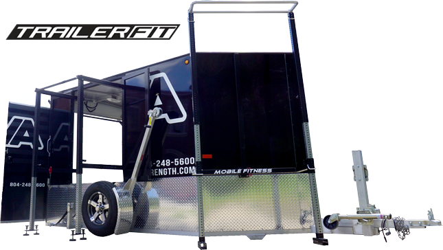 mobile fitness equipment trailer fit