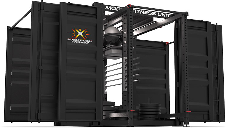 mobile fitness equipment custom
