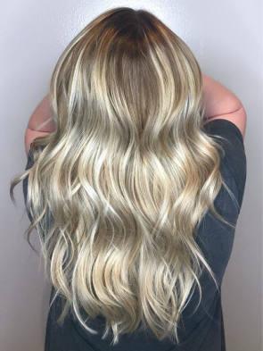 balayage hair example