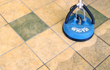 Say Goodbye to Dingy Tile Floors
