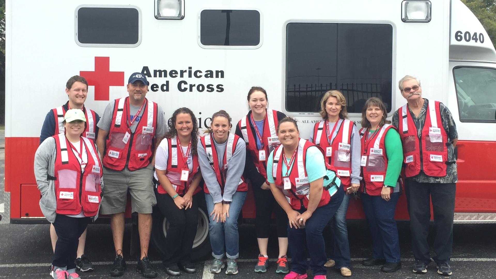 SFC Volunteers with the American Red Cross