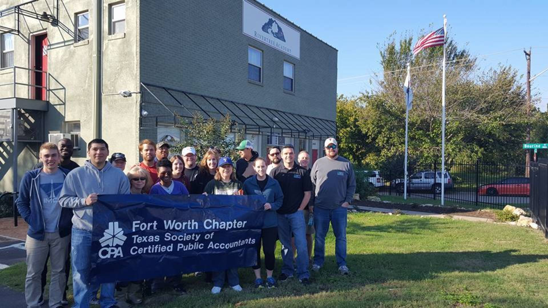 SFC Volunteers with the Fort Worth Chapter of CPA's